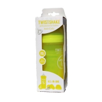 TWISTSHAKE BIBERÓN ANTICÓLICO 260 ML AMARILLO